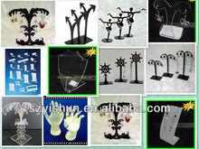 JLP acrylic jewelry display custom manufacturing