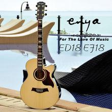 Enya Acoustic guitar E18 Series, set neck guitar kit