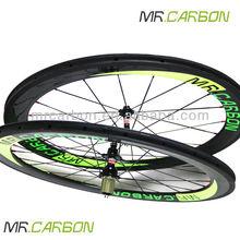 road bike 60mm clincher carbon wheelset ruote carbonio super light 1610g