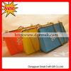 mini square silicone wallet , silicone coin purse
