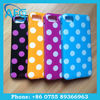 polka dots phone cases for Blackberry Z10 colorful case cover