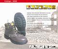 De los hombres marron oscuro resistente al calor zapatos/botas de la seguridad/segurança sapatos 9960