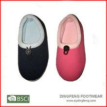 Fleece indoor shoes