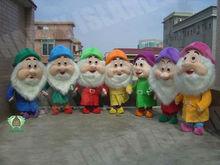 HI EN71 Happy Funny Carnival Adult Seven Dwarfs Costumes
