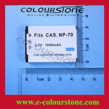 Digital camera original battery for CASIO CNP-70 NP-70