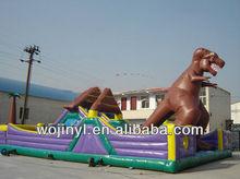 Fun jump dinosaur inflatable castle bouncer/monster bouncer inflatable/home use inflatable bouncer