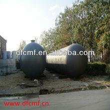 stainless steel galvanized water pressure tank