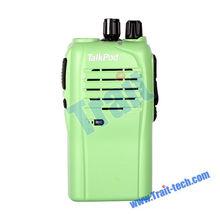 Hot!! Professional Two-way Radio Walkie Talkie, 16 Channal Compact Portable Interphone Radio 5 Colors