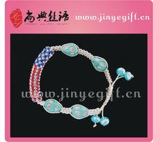 Latest Design Fashion Accessory USA Flag Vogue Bracelet