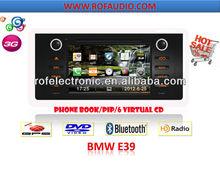 For BMW E39 Car GPS Navigation in Dash DVD