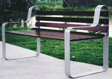 Castle Irion Park Benches Legs /Moden Park Bench TX-227N