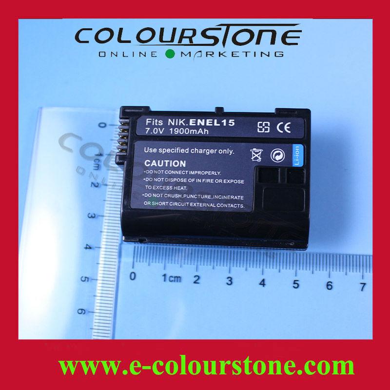 ใหม่แบตเตอรี่กล้องดิจิตอลสำหรับnikonen- el15enel15èmb-d12mb-d11v1