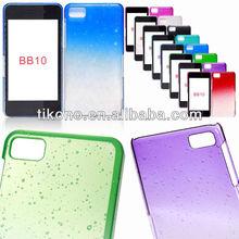New arrival ultrathin raindrop pattern plastic case for blackberry z10