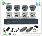 hot security dvr kit with ir camera (GRT-D3608EK6-4CT)