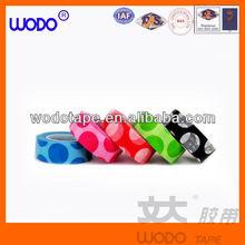 Japanese colorful printed Polka Dot and Graph Washi Tape
