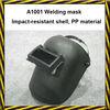 PP material with PVC lens welding helmet mask