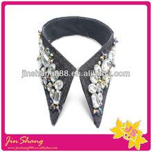 Fashion hotsell the high quality rhinestone collar for apparels