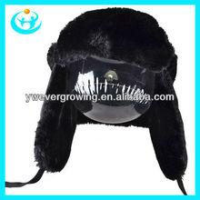 Lei fen hat cover ear warm hats snow cap earflap hat