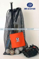 golf ball mesh bag for ball equipment
