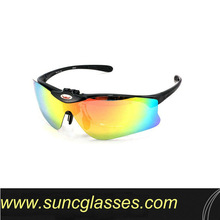 magnetic sports eyewear with all fitting package