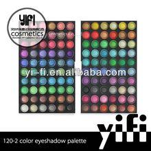 Cosmetics distributor! 120-2 eyeshadow palette iron clamp diamond eyeshadow
