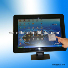 "19"" Touch Screen LCD Advertising Player;lcd media player"