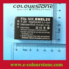 Hot selling li-ion battery for camera EN-EL20 for Nikon 1J1