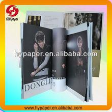 Cloth soft cover magazine printing