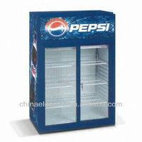 Countertop Sliding Door Cooler/Refrigerator with 90, 120 and 135L Volume, CE/ETL Certified-1