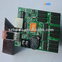 led ethernet controller E3 128x1024,7color effects,IP grouped manage