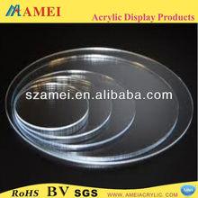acrylic round disc