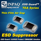 INPAQ ESD Guard passive component- TEA Series -Low Cap/Low Vc esd suppressor Electronic component ceramic noise suppressor