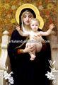 bela pintura a reprodução do famoso jesus cristo pinturas a óleo