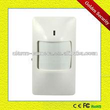 Automatic low voltage alert PIR motion detector Automatic low voltage alert