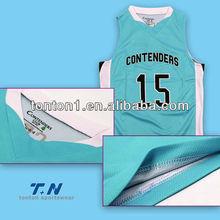 Sublimated High Quality Basketball Shirts