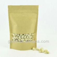 stand up resealable bag / ziplock bag zipper bag stand up pouc