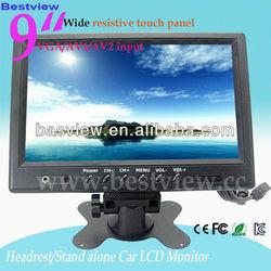 """9"""" Widescreen VGA / RCA/ BNC CCTV Monitor"""