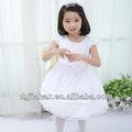Hot! Schöne blume kinder taille spitze garnituren modell partei zu tragen kleid für kinder