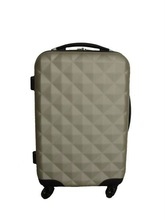 ABS,PC travel trolley luggage case