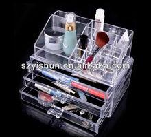 Best customized acrylic drawer acrylic lipstick organizer