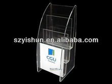 Manufacturing customized acrylic display acrylic office display