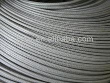 6*7 Steel Wire Rope 6x7 for Suspension Bridge/Sling