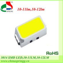 Wholesale SMD/PLCC LED 3014 Chip 10-12lm High Lumens