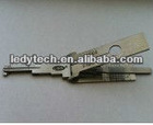 New style NE66 Volvo S80 car locks read tooth open combo ,decoder and opening tool