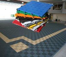 Impact plastic red brick floor tile for verandah
