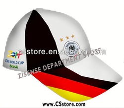 2014 World Cup series promotional fashion baseball caps and hats embroidery logo mesh commercial cap foreign trade