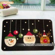 Decorative christmas carpets for children