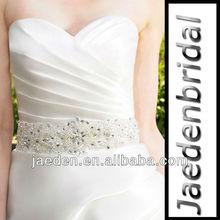 S002 Wonderful Crystals Materials Beaded Bridal Sash Belt