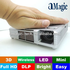 Wireless LED 3D projector