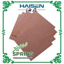 5.0mm red oak veneer fancy plywood crown cut